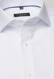 ETERNA LANGARM HEMD COMFORT FIT COOL SHIRT TWILL WEISS UNIFARBEN
