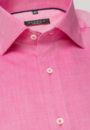 ETERNA LANGARM HEMD MODERN FIT OXFORD PINK UNIFARBEN