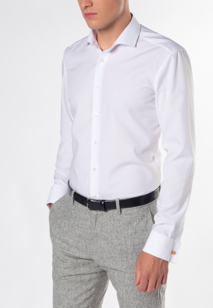 Eterna - langarm hemd slim fit chambray - 2