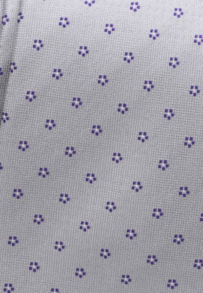 ETERNA TIE PURPLE / SILVER GRAY PATTERNED