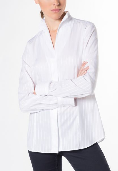 ETERNA LONG SLEEVE BLOUSE MODERN CLASSIC WHITE UNI